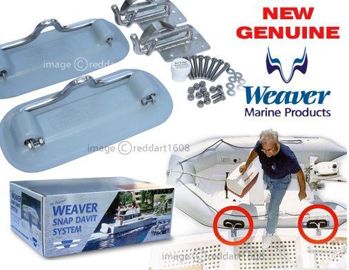 Weaver Inflatable Boat Snap Davit
